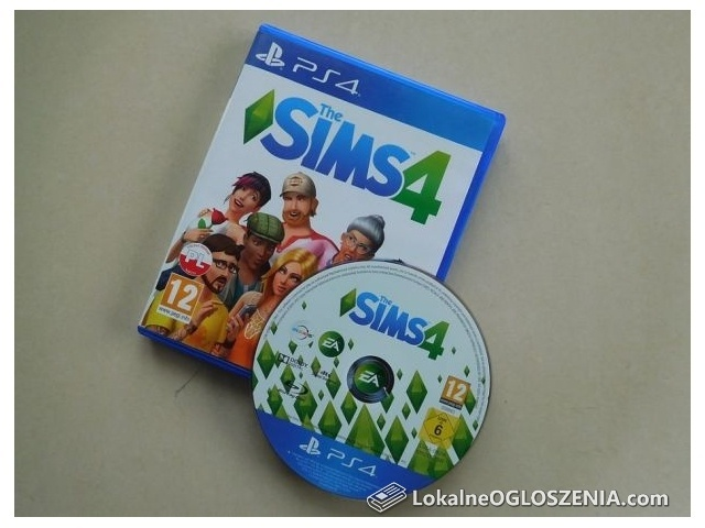 THE SIMS 4 Polska Wersja PlayStation 4 PS4
