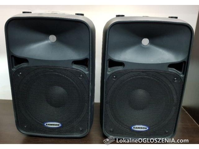 Głośniki Samson Auro D210 cena za 2 szt aktywne kolumny głośnikowe