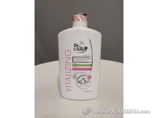 Szampon na POROST włosów Regeneracyjny Farmasi z Czosnkiem i Capixylem