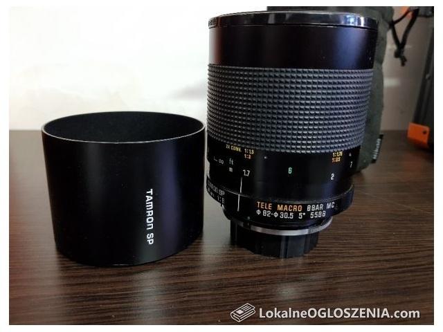 Obiektyw Tamron SP 500mm 55BB 1:8 Tele Macro makro do Nikon