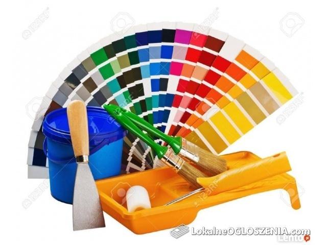 Malowanie mieszkań i lokali użytkowych w PIle i okolicy