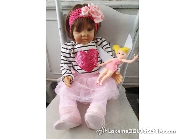 Lalka Nel jak żywa, realistyczne dziecko jak lalka reborn nowa