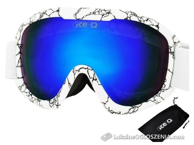 Gogle narciarskie snowboardowe ICE-Q model Małe Ciche