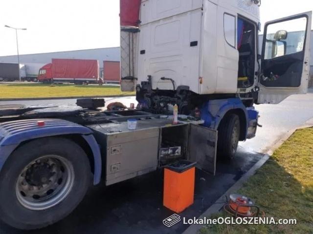 Mobilny serwis klimatyzacji ciężarowe poznań