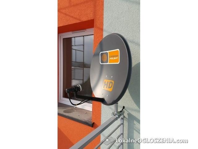 Montaż NC PLUS CYFROWY POLSAT DVB-T NAZIEMNA Regulacja