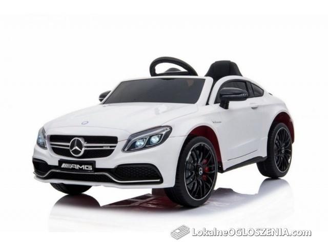 Auto na akumulator Mercedes Benz C63 AMG Biały