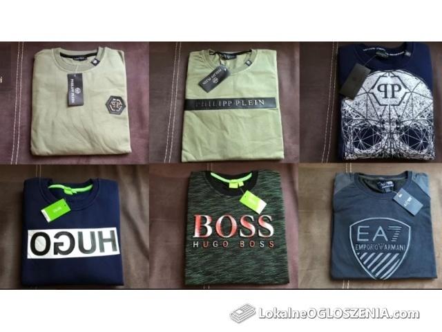 Bluzy męskie Plein Boss EA7 okazja !!