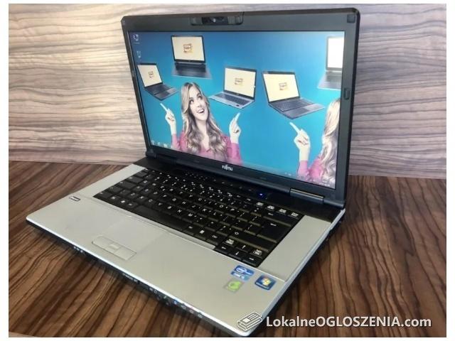 Laptop Fujitsu E751 Intel i5 ładny zadbany komputer tanio okazja FV