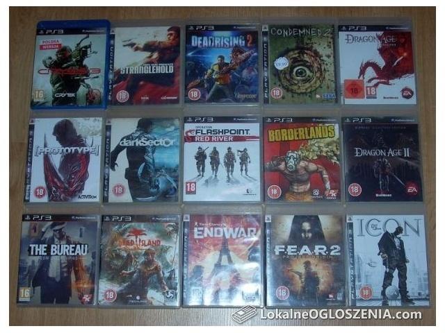 Zestaw na PS3 Dead Rising Dragon Age John Woo Stranglehold FEAR 2