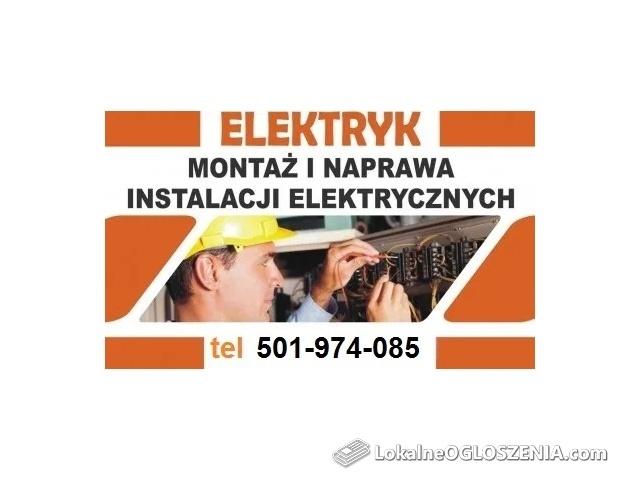 Elektryk 24h Poznań i okolice Usuwanie awarii, Instalacje elektryczne
