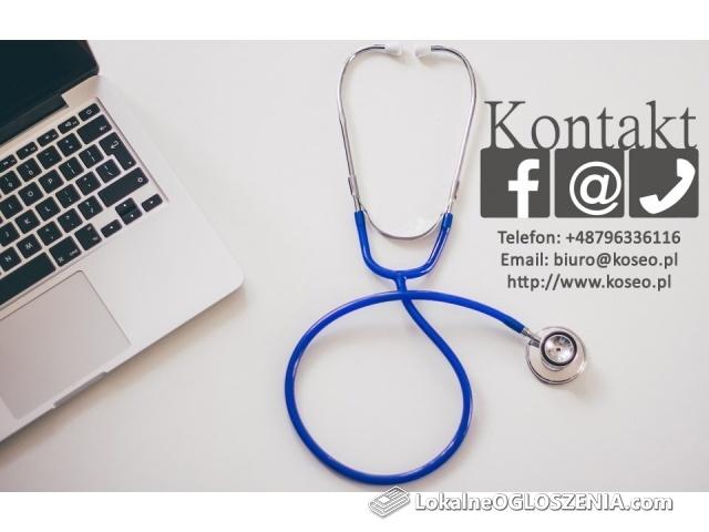 Skuteczny marketing stron medycznych (pozycjonowanie)