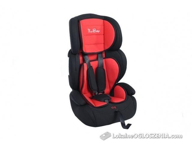 Fotelik Samochodowy Dziecięcy 9-36 kg 1-12 lat Fun Baby GREKO