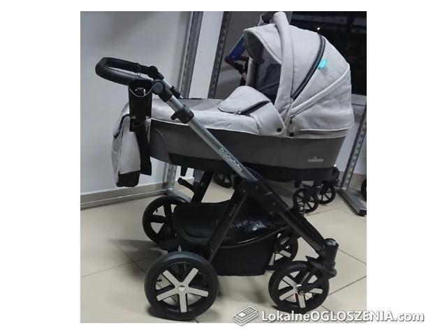 Nowy nieużywany wózek głęboko-spacerowy BABY DESIGN HUSKY.
