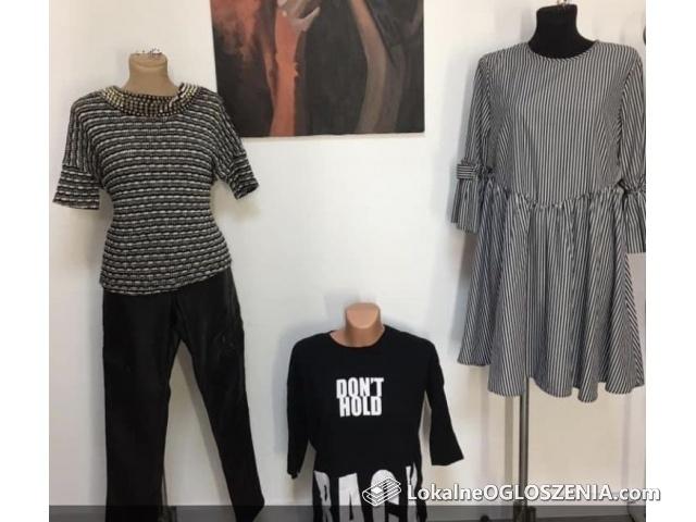 Paczka ubrań używane i nowe wybór rozmiarów