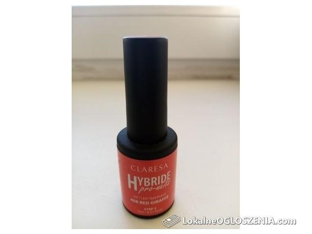 Claresa lakier hybrydowy red