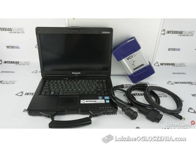 Zestaw Diagnostyczny DAF DAVIE MUX-560 komputer interfejs