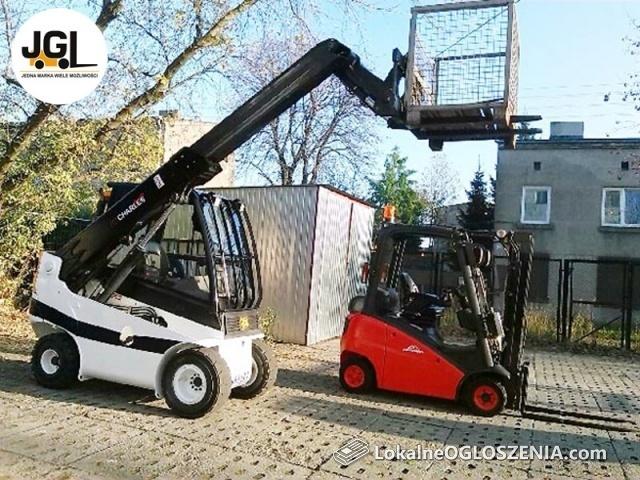 Kursy na wózki widłowe, wózki wysokiego składowania, uprawnienia UDT.