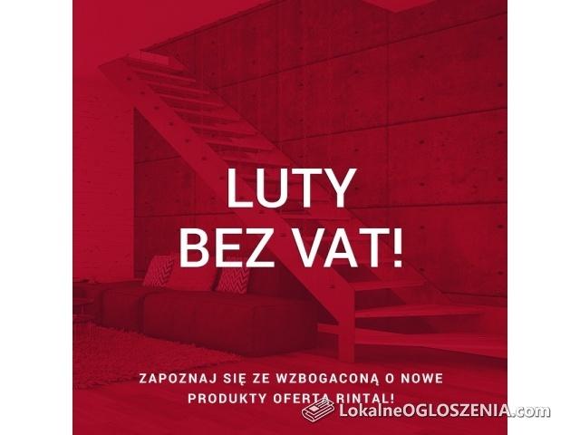 RINTAL Schody -promocja LUTY BEZ VAT!!