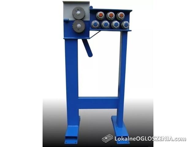 Prościarka do drutu odgromowego PR6/8-7. Prostownica OLMET - 7 rolkowa