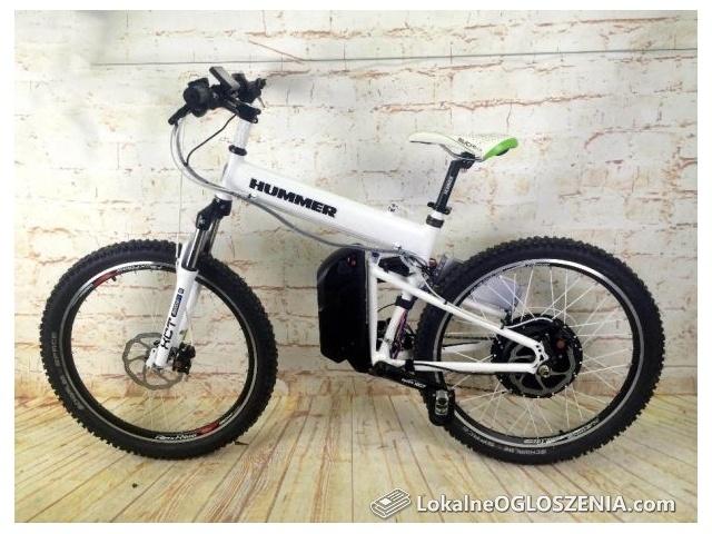 Składany rower elektryczny 1000 W E-HUMMER