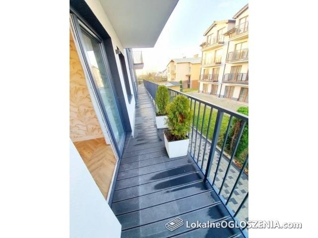 Nowy apartament dwupokojowy z wielkim balkonem!!