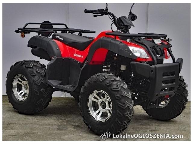 Quad BASHAN 200 ATV Cruiser MAX / HOMOLOGACJA EURO 4 / Wtrysk paliwa