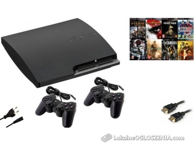 PlayStation 3 Slim 2 PADY GRY