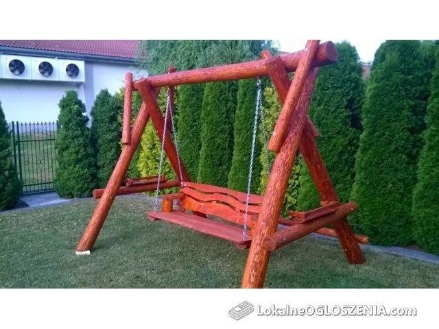 Huśtawka ogrodowa plac zabaw producent meble ogrodowe