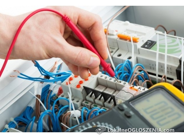 Elektryk, instalacje elektryczne - Usługi elektryczne