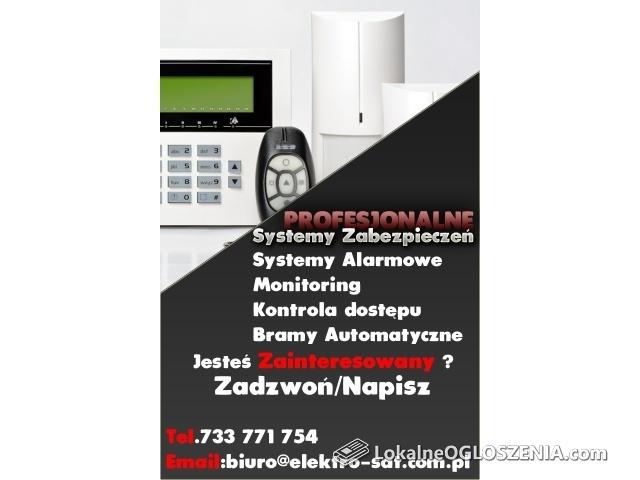 Wykonujemy Instalacje alarmowe ,systemy alarmowe ,monitoring