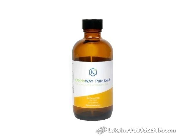 Olej konopny Czyste Złoto CBD 1000mg - 1500 mg/ 120ml firmy Kannaway