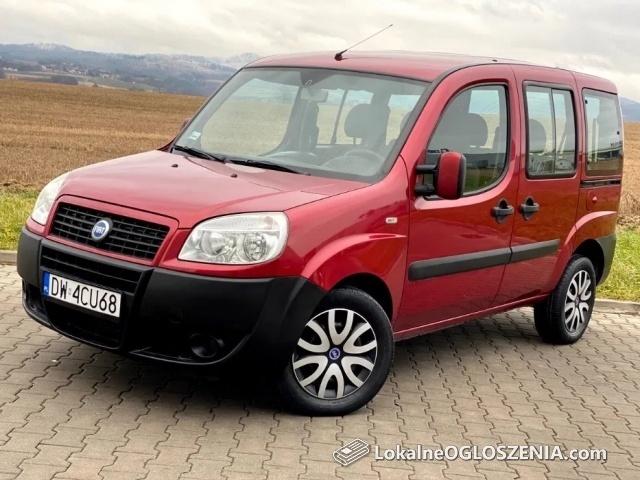Fiat Doblo SALON POLSKA 1.9 JTD 160Tyś KM Po Serwisie Bezwypadkowy