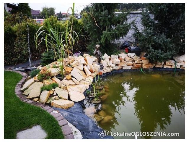Kamień ogrodowy ozdobny do ogrodu na skalniak skarpy murki piaskowiec