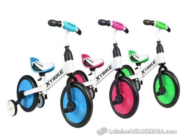 Rowerek BIEGOWY Trójkołowy Dziecięcy X TRIKE 3w1 trzy kolory