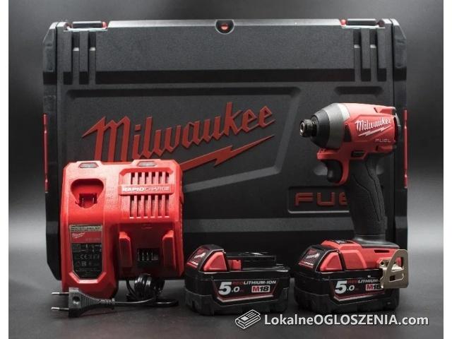 Milwaukee M18FID2-502X w/2x5Ah ładowarka FAKTURA