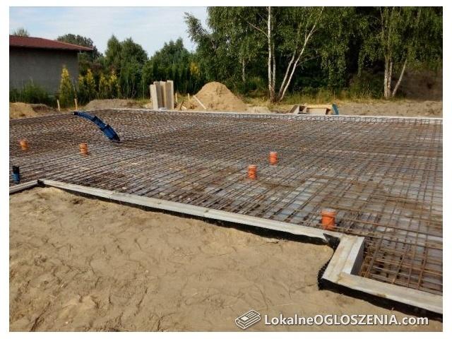 Budowa płyty fundamentowej