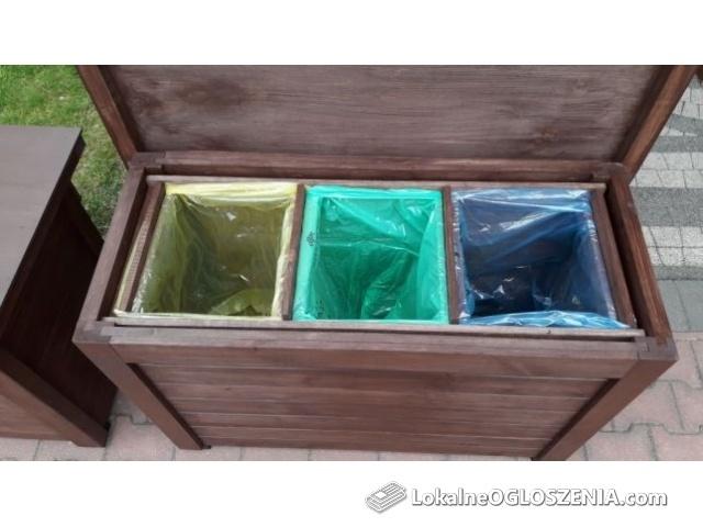 Obudowa, kosz zabudowa worków na śmieci, sortownik,segregacja odpadów.