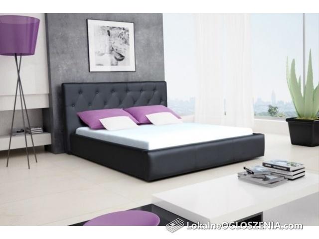 Łóżko sypialniane Roxana 160/200 stelaż +pojemnik