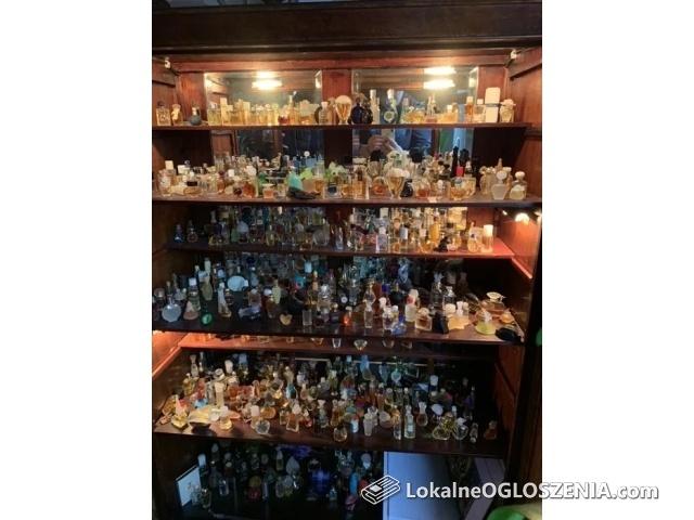 Kolekcja miniatur perfum