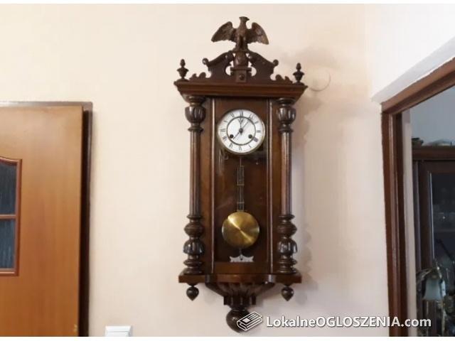F.M.S Wielki,niespotykany niemieck zegar wiszący