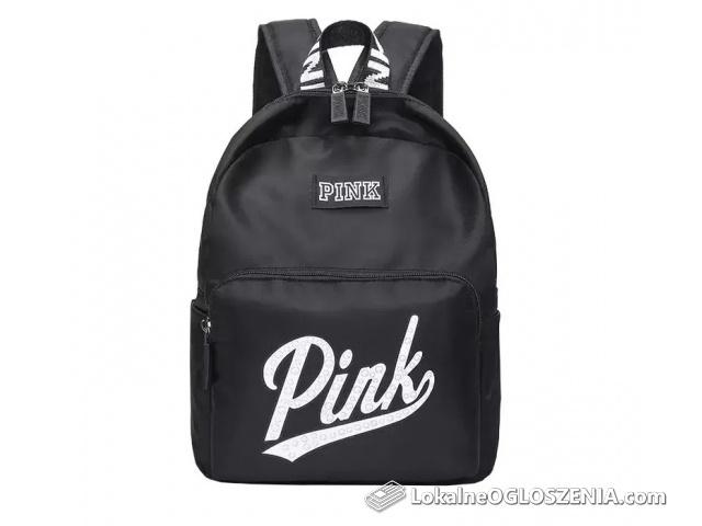 Czarny plecak Pink Victoria's Secret