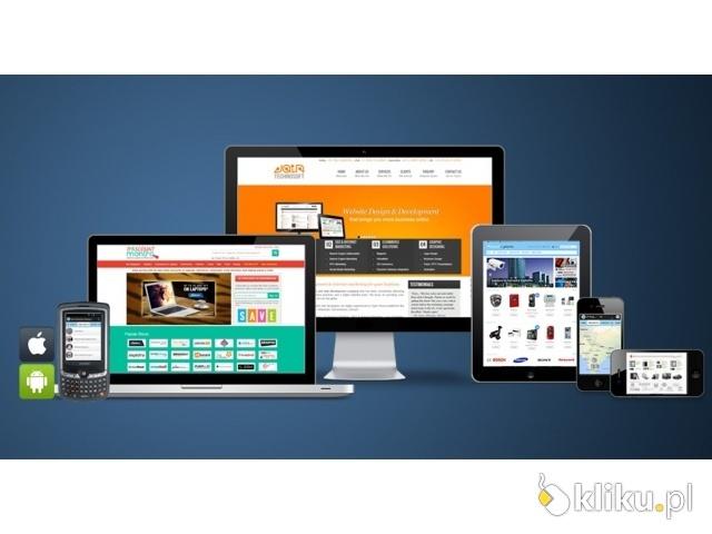 Tworzenie stron www, sklepów, grafika, reklama