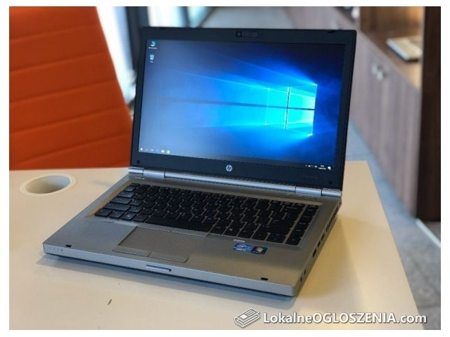 Laptop dla profesjonalistów Hp Elitebook i7 256GB SSD 8GB