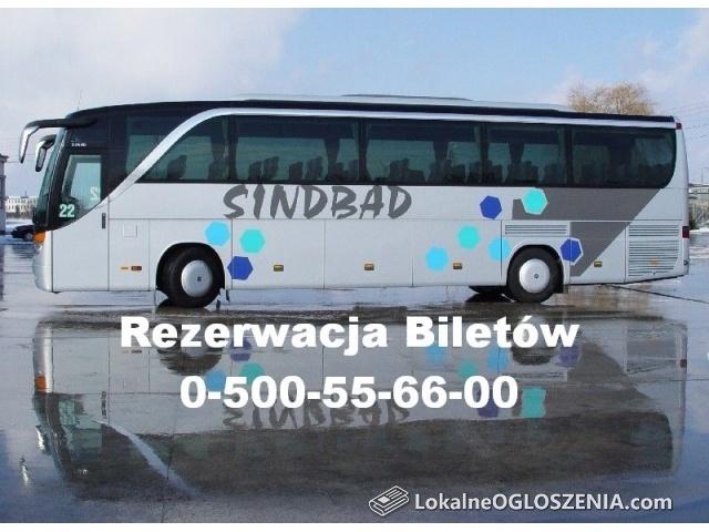 Sindbad - Bilety Autobusowe do ponad 500 miast w Europie