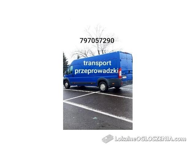 TRANSPORT przeprowadzki Łódź 24 h tanio szybko solidnie ŁÓDŻ