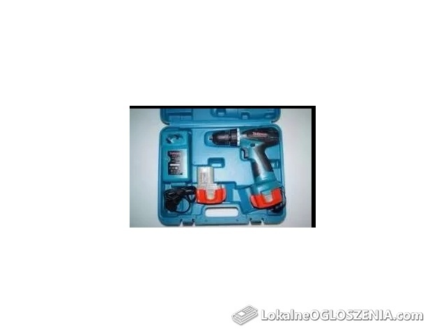 WKRĘTARKA akumulatorowa 18 V Yokuma + 2 AKU Makita
