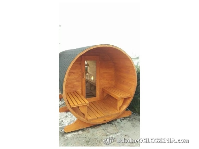 Sauna Ogrodowa 200cm z piecem Harvia