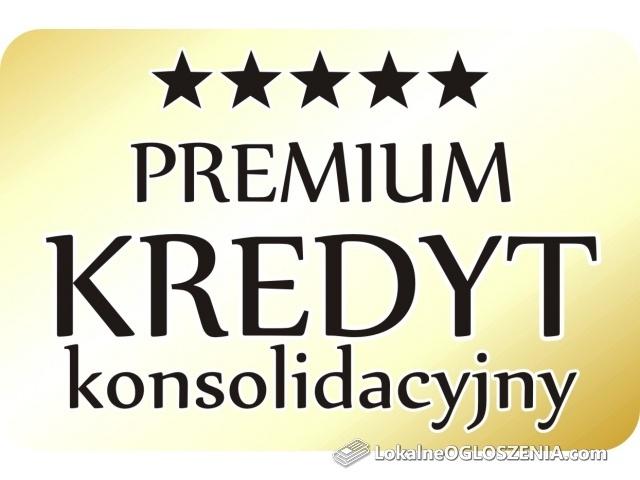 Premium KREDYT konsolidacyjny! Nawet 550.000 zł