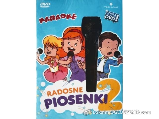 Karaoke Radosne piosenki 2 płyta z mikrofonem