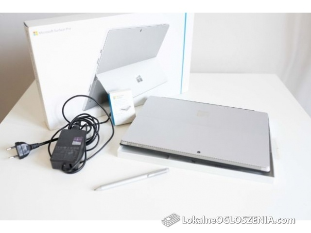 Microsoft Surface 4 - 8GB, 256SSD, Windows 10, i5 + klawiatura Rysik